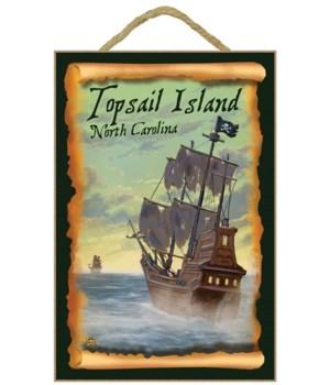 Topsail Island, north Carolina - Pirate