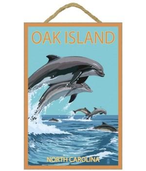 Oak Island, north Carolina - Dolphins Ju
