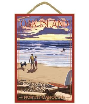 Oak Island, north Carolina - Beach Walk