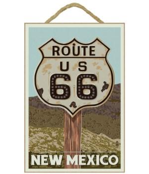 New Mexico - Route 66 Letterpress - Lant