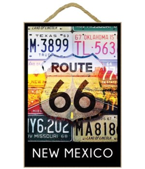 New Mexico - Route 66 License Plates - L