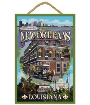 New Orleans, Louisiana - Montage - Lante