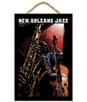 New Orleans, Louisiana - Jazz Band - Scr