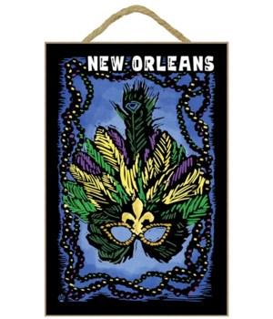 New Orleans, Louisiana - Marti Gras - Sc