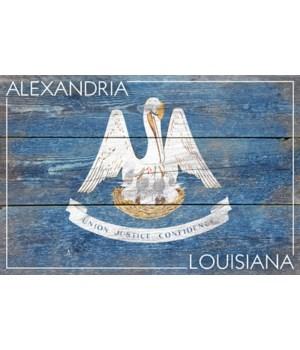Alexandria, Louisiana - Rustic State Fla
