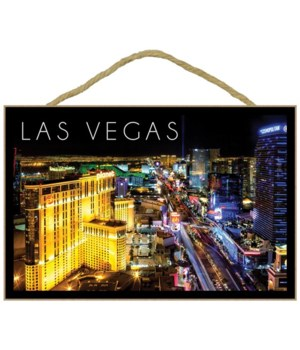 Las Vegas, Nevada - The Strip at Night -