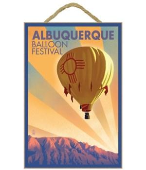 Hot Air Balloon Festival - Albuquerque,
