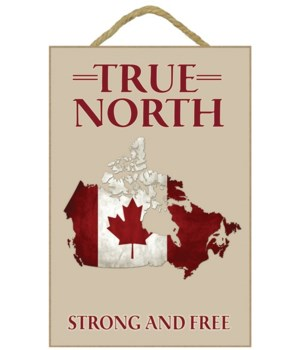 Canada - True north - Lantern Press 7x10