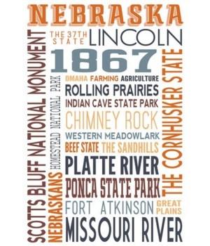 Nebraska - Typography