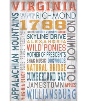Virginia - Rustic Typography