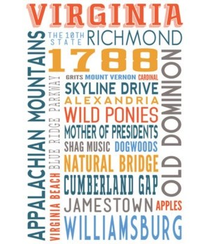 Virginia - Typography
