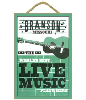 Branson, Missouri - Horizontal Guitar -