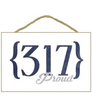 Indianapolis, Indiana - 317 Area Code (B