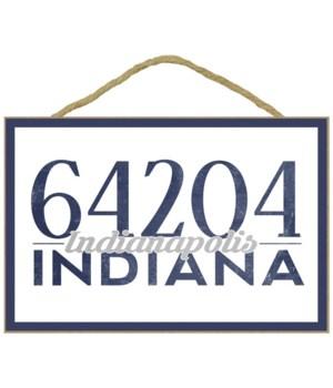 Indianapolis, Indiana - 64204 Zip Code (