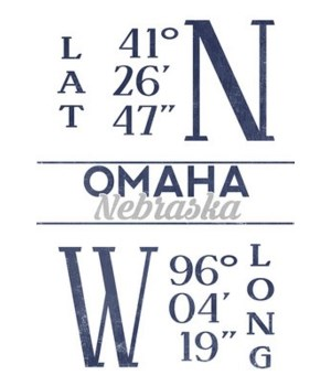 Omaha, Nebraska - Latitude & Longitude