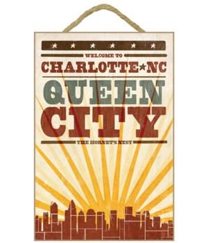 Charlotte, north Carolina - Skyline & Su