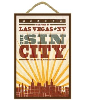 Las Vegas, Nevada - Skyline & Sunburst S
