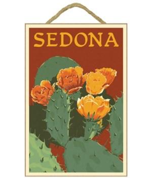 Sedona, Arizona - Prickly Pear Cactus -