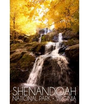 Shenandoah Nat'l Park -Waterfall in Fall