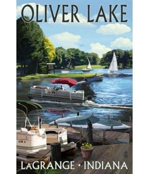 Indiana - LaGrange, Oliver Lake
