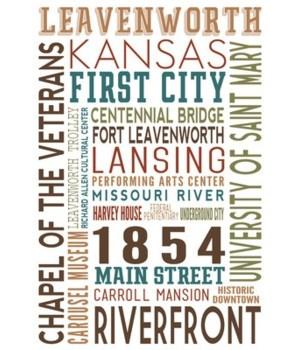 Levenworth, Kansas - Typography