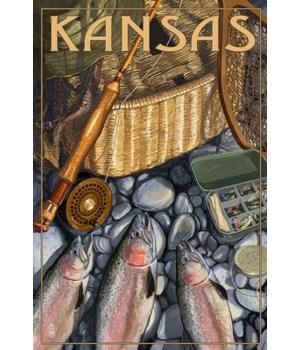 Kansas - Fishing Still Life