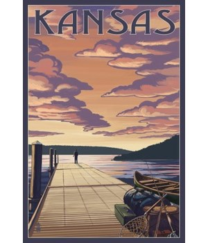 Kansas - Dock Scene & Lake