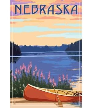 Nebraska - Canoe & Lake