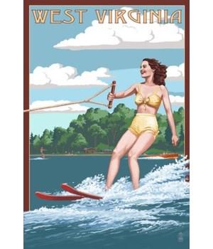 WV - Water Skier & Lake
