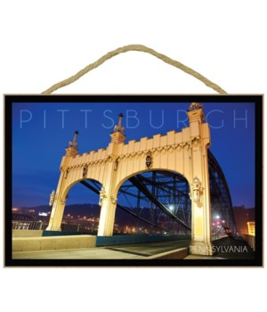 Pittsburgh, Pennsylvania - Old Bridge at
