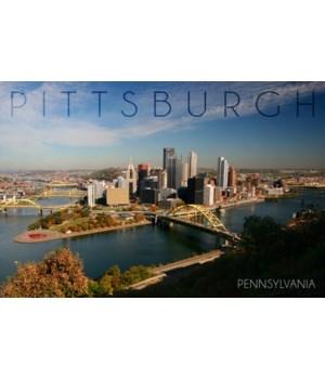 Pittsburgh, Pennsylvania - Autumn Scene