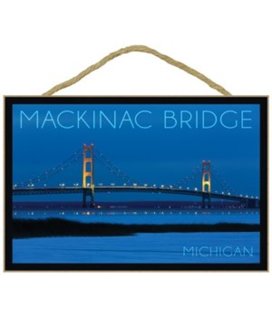 Mackinac Bridge, Michigan - Blue Hour -