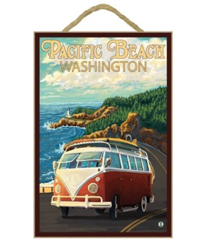 Pacific Beach, Washington - VW Van Cruis