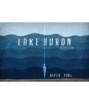 Lake Huron, MI -Lake Essentials- Depth