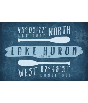 Lake Huron, MI -Lake Essentials-Latitude
