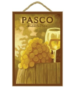 Pasco, Washington - White Grapes & Wine