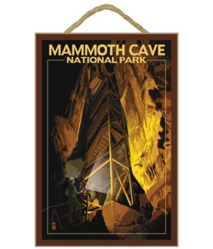 Mammoth Cave - staircase