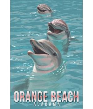 Orange Beach, Alabama - Dolphins