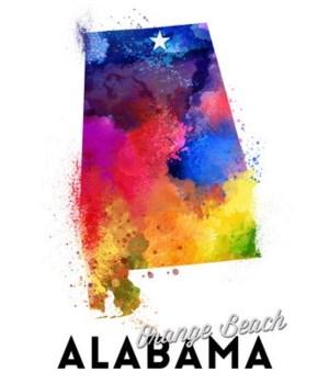 Orange Beach, Alabama - State Abstract