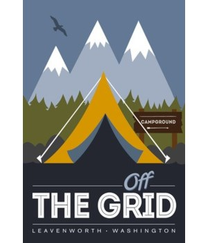 Leavenworth, Washington - Off Grid - Vec