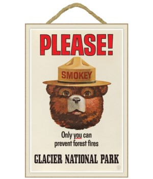 Glacier Park Lodge, Montana - Smoky Bear