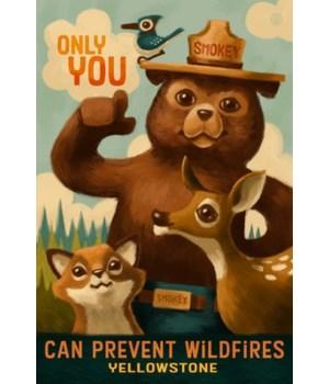 Yellowstone - Smokey Bear - Only You - L