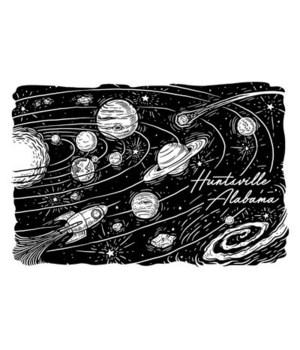 Huntsville, Alabama - Space Scene