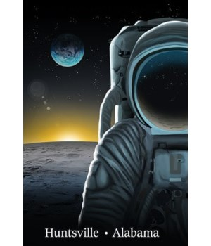 Huntsville, Alabama - Man on the Moon