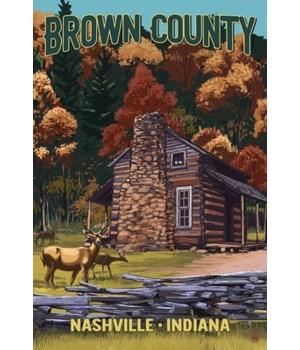IN - Brown Country, Nashville - Deer