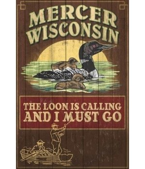 Mercer, WI - The Loon is Calling
