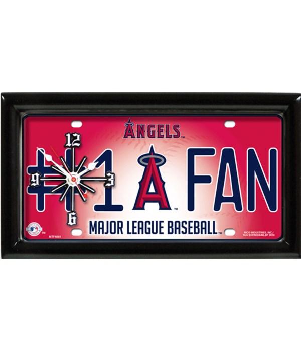 LA ANGELS MLB CLOCK