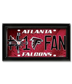 ATL FALCONS   CLOCK