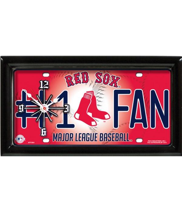 BOSTON RED SOX CLOCK