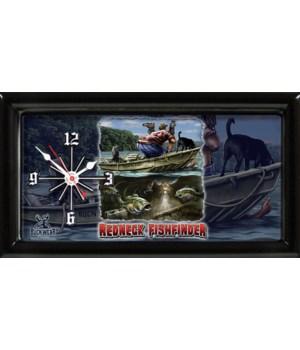REDNECK FISHFINDER CLOCK  # 1